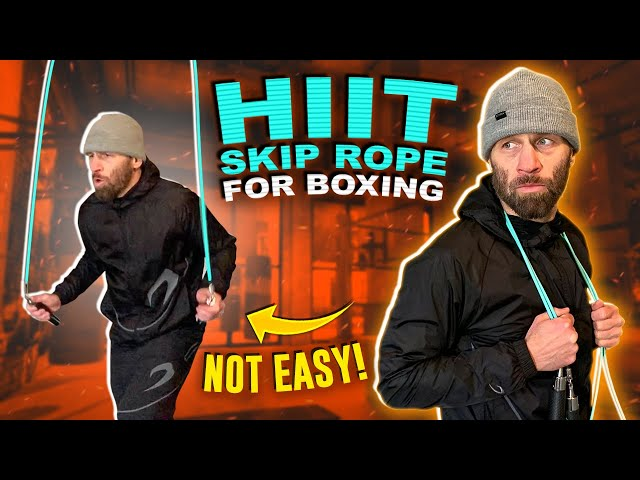 HIIT Skip Rope Workout for Boxing