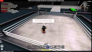 Roblox WWR Ep.5 - LAST SHOW TILL WRESTLEMANIA!!!! Part 1
