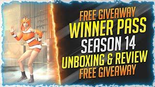 WINNER PASS SEASON 14 UNBOXING & REVIEW - PUBG MOBILE LITE | WP SEASON 14 MASSIVE GIVEAWAY | GR