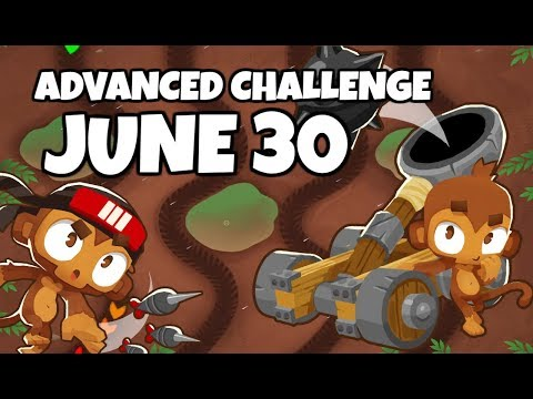 BTD6 Advanced Challenge - Impossible Almost - June 30 2019