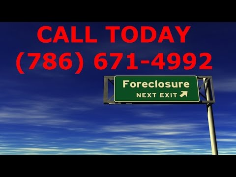 Emergency Foreclosure Attorney in Miami 877-541-9307 Lawyer Bankruptcy Wage Garnishment Lawsuit Repo