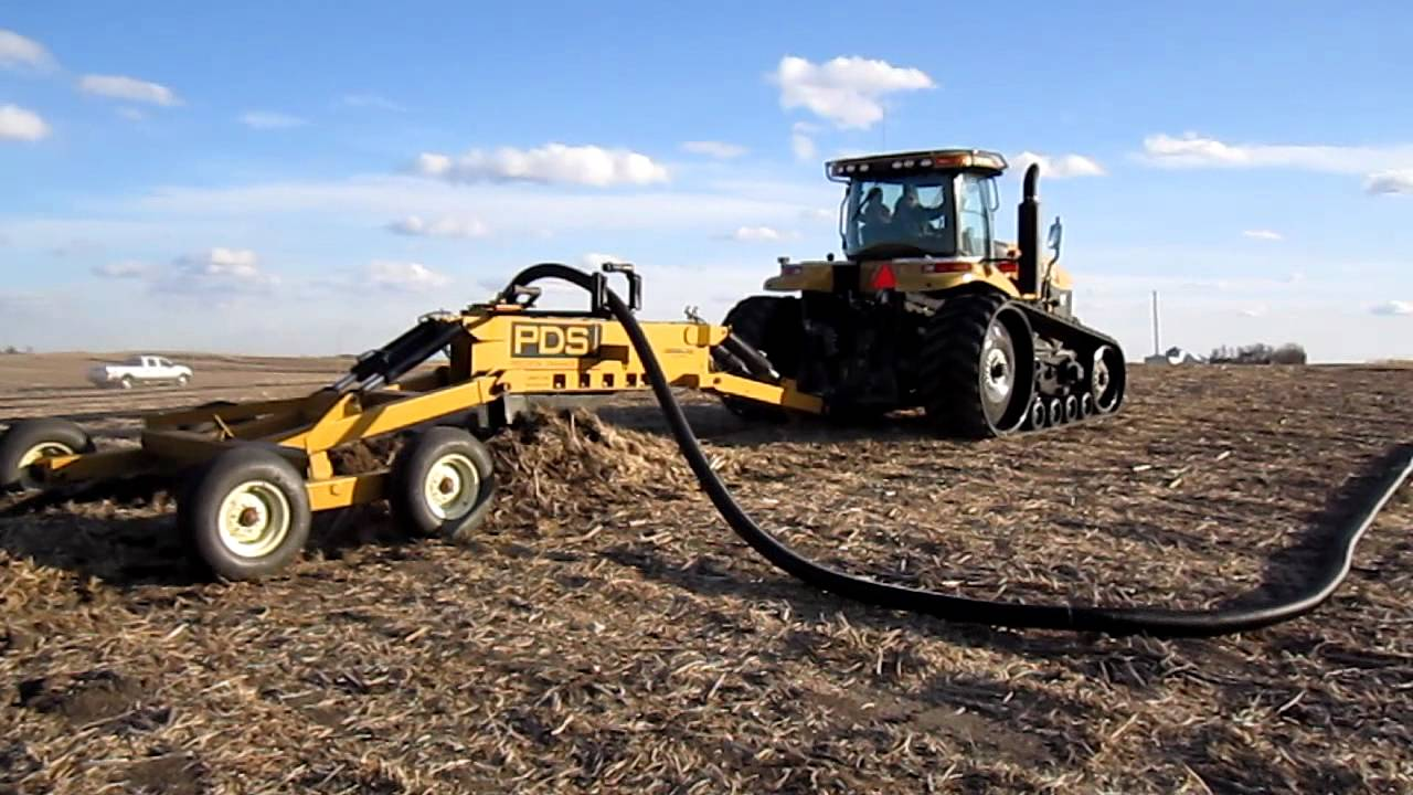 Mt855c And Tile Plow
