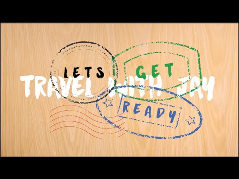 Whats in My Carry On / Travel Essentials ✈ | Get Ready to Travel w Jay | EPISODE 1