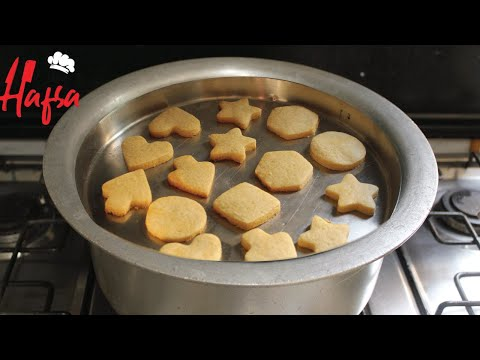 Butter Biscuits Without Oven | No Oven Biscuit Recipe | Cookies Recipe Without Oven