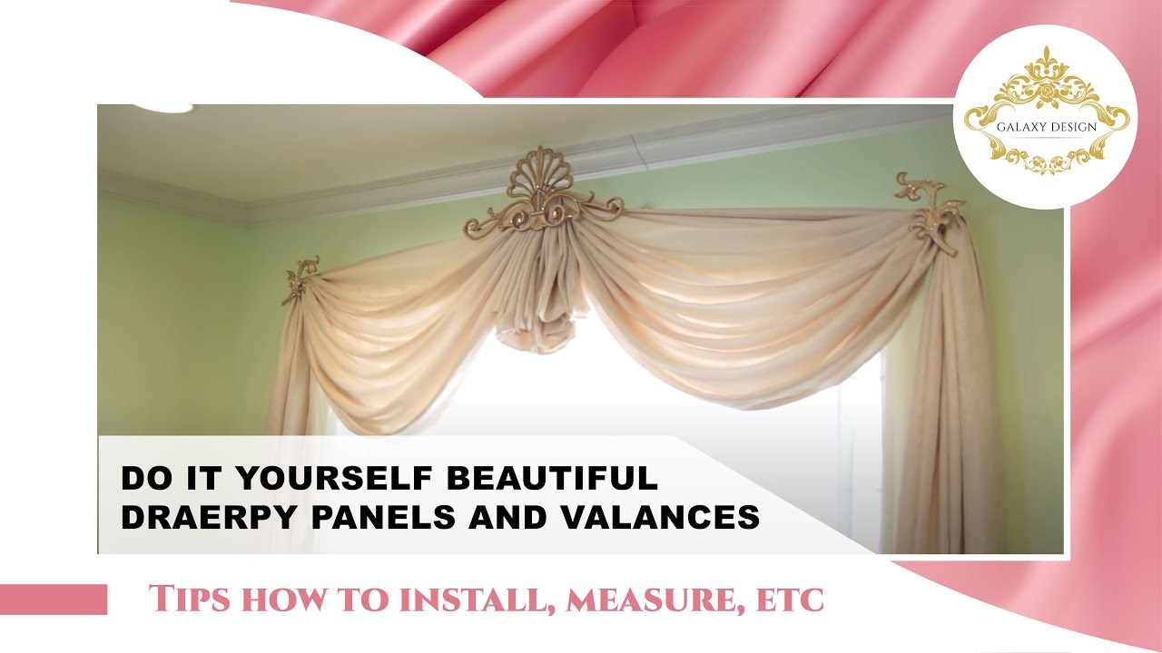 Modern Window Curtains Drapes GalaxyDesign Video 78 YouTube