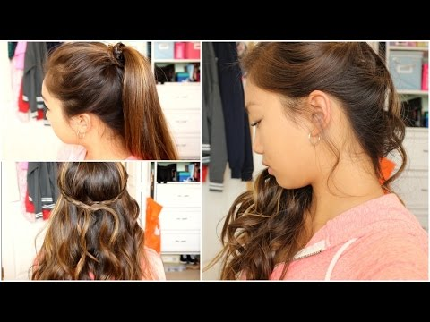 ♡ 3 Prom/Semi formal hairstyles! | Tutorial ♡