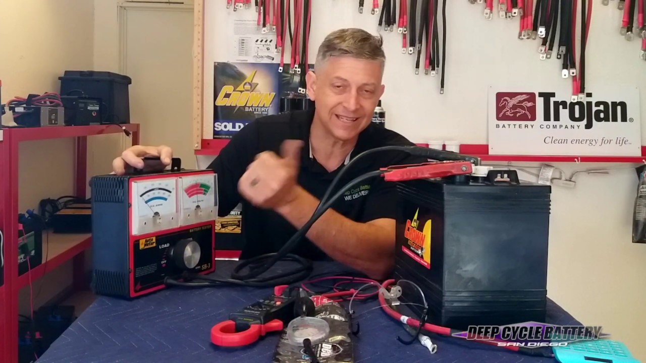 How To Test Golf Cart Batteries Troubleshooting Batteries Youtube
