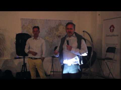 Foreign Minister Anders Samuelsen Introduces SCALEit Pitch Night in San Francisco