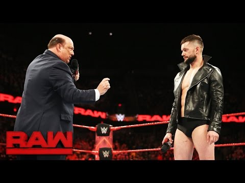 Thumbnail: Paul Heyman places Finn Bálor above the rest for Extreme Rules Fatal 5-Way: Raw, May 22, 2017