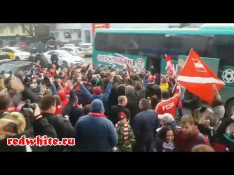 Встреча команды Спартак в Перми