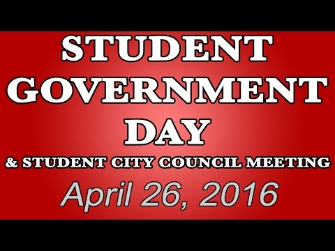 Student Government Day | April 26, 2016