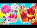 DIY UNIKITTY Slime Jars! Super Glitter Slime With Angry Kitty Custom Jars! Doctor Squish
