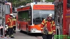 BUSUNFALL CONTRA PKW [MANV] - Große Hauptübung Feuerwehr Kornwestheim - [Ü]