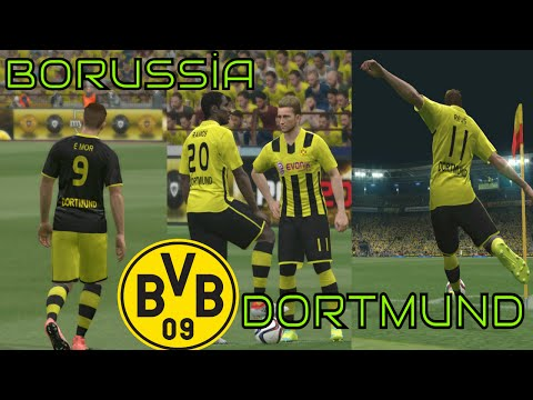 PES 2016 Borussia Dortmund 2016-2017 Kit Build(Forma Yapımı)