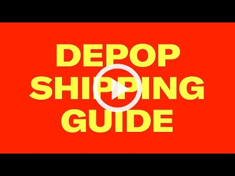Depop Shipping Guide - Non US