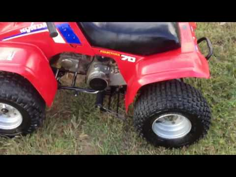 1986 Honda TRX70 kids atv