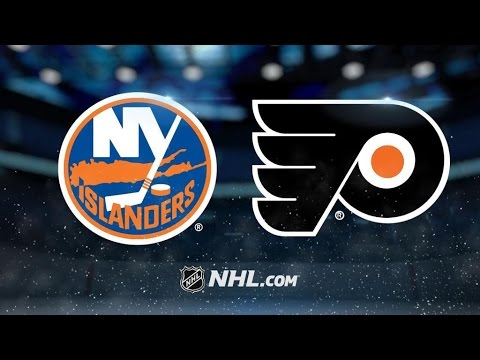 New York Islanders Vs. Philadelphia Flyers   NHL Game Recap   March 30, 2017