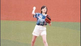 プロ野球始球式 #超絶かわいい有名人芸能人 モチベーションのひとつなの...