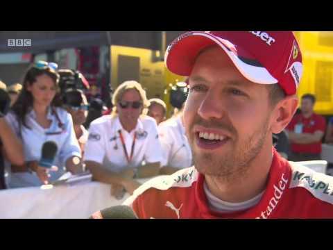 2015 Italy - Post-Race: BBC Sebastian Vettel