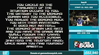 Doom 64 by Grav in 36:41 - Summer Games Done Quick 2015 - Part 117