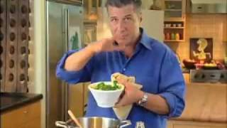 Michael Chiarello - Recipe Demo For Broccoli Soup