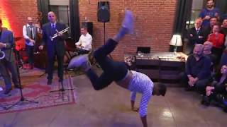 Jean-charles joyss - jazz roots improvisationthe jingle ball by feel good swinglive band harlem swing societyvideo matteo maggidecember 2019 torinoil 7...