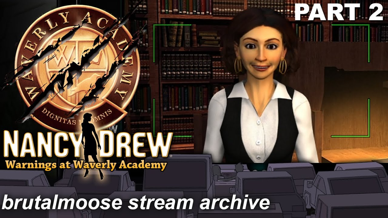 Nancy Drew: Warnings at Waverly Academy | Snack Shop Boss!