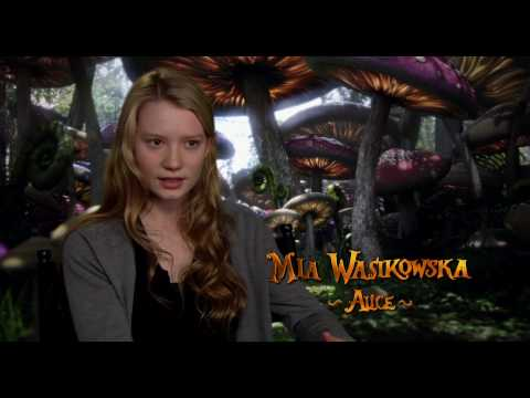 Alice in Wonderland (2010 film) Behind the Scenes Alice