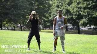 How to dance dancehall: HOLLYWOOD - Blacka Di Danca