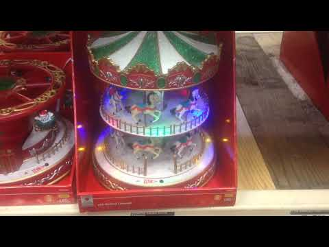 Christmas LED Musical Carousel