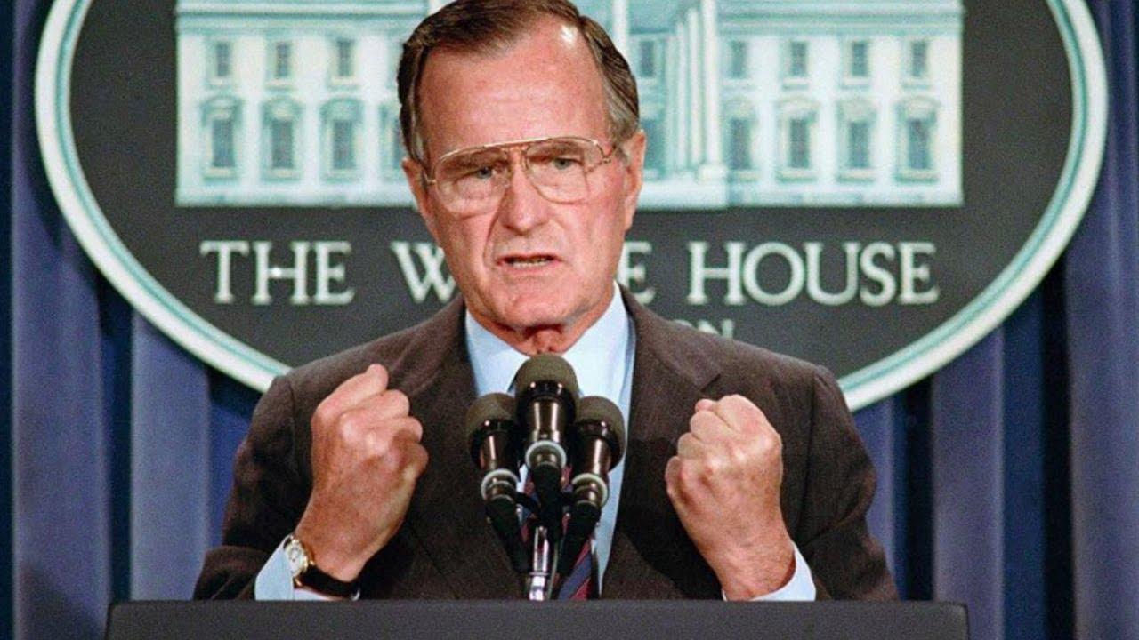 Bush Iraq Policy Summarized By Donald >> George H W Bush War Criminal Cia Spy Oil Tycoon Embodiment Of