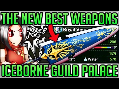 New Guild Palace Weapons - Full Showcase - Grand Appreciation Fest - Monster Hunter World Iceborne!