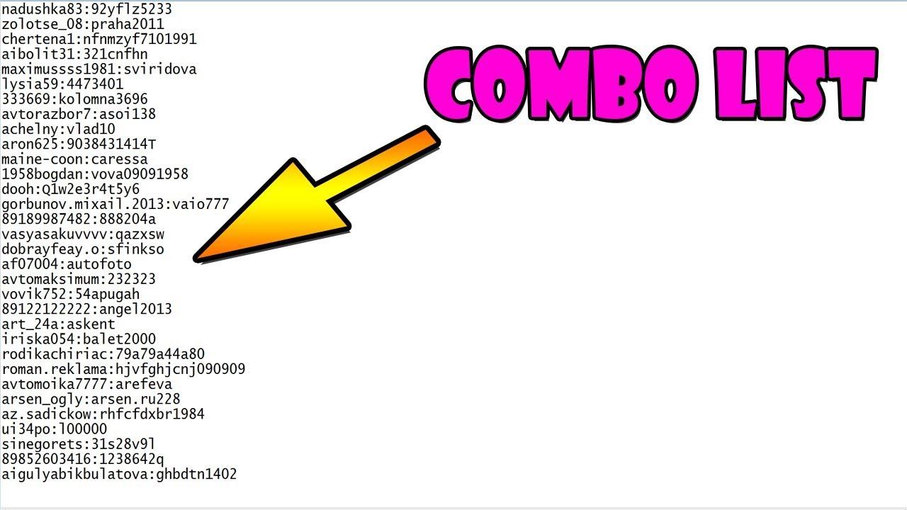 User Pass Combo List