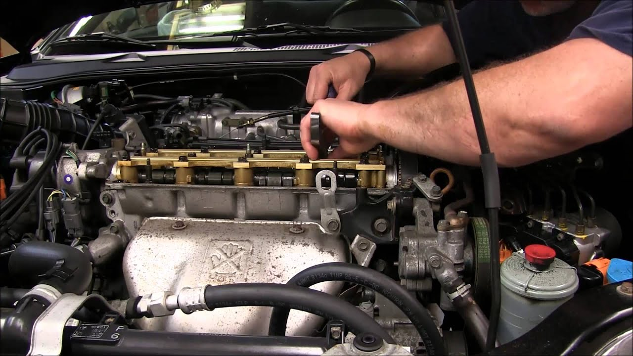 How To Adjust Valves On A 2001 Honda Prelude And Acuras Youtube Fuel Filter