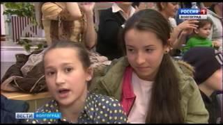 Презентация новой цирковой программы «Весна» в Волгогораде.