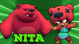Nita strong and her bear Brawl stars animation | Patsakorn Sermsri Channel