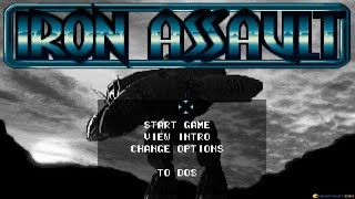 Iron Assault gameplay (PC Game, 1995)