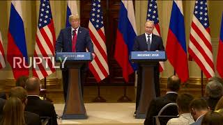 Finland: Trump congratulates Putin and Russia on