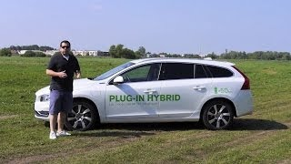 (ENG) Volvo V60 D6 Plug-in Hybrid - Test Drive and Review