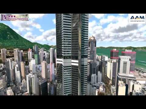Hong Kong 3D City Model by AAM