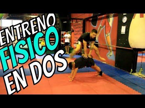 Los mejores ejercicios para entrenar el fondo físico / KickBoxing.MuayThai.MMA