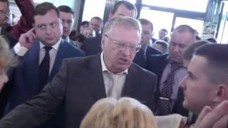 визит Жириновского в Смоленск  Рынок
