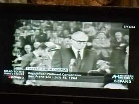 barry Goldwater 1964 Republican Convention