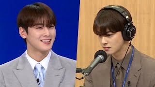 What if you turned on the news and Cha Eun Woo was an anchor? Cha Eun Woo's anchor challenge!