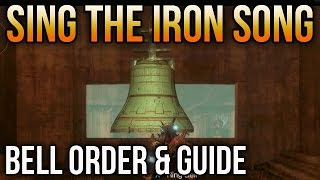 Destiny Rise of Iron: How to Play the Bells How to Sing the Iron Song [Bell Order & Guide]