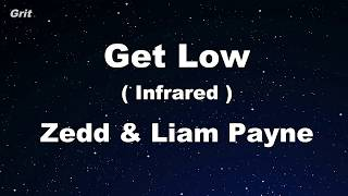get low   zedd liam payne karaoke 【with guide melody】 instrumental