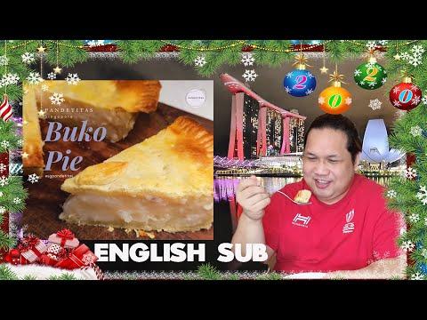 Buko Pie (Coconut Pie) in Singapore | Christmas is coming soon!