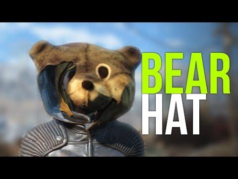 Fallout 4 Rare Armor! (Mascot Head / Teddy Bear Helmet)