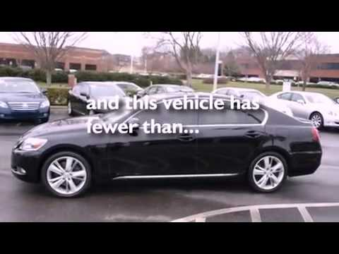 2010 Lexus GS 450h Certified Brentwood TN 37027 - YouTube
