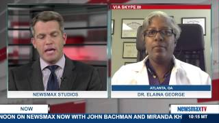Newsmax Now | Dr. Elaina George discusses the Obamaxare employer mandate